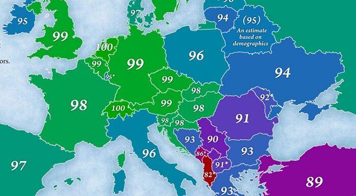 Romania la coada Europei la IQ