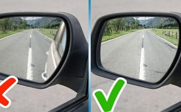 Cum reglez oglinzile masinii corect
