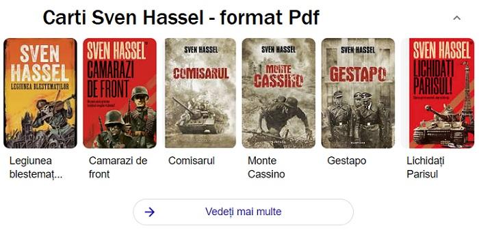 Cartile lui Sven Hassel gratuit